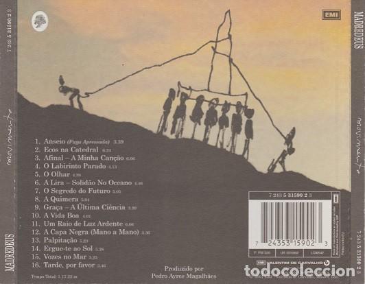 CDs de Música: Madredeus ?– Movimento (Portugal, 2001) - Foto 2 - 133865990