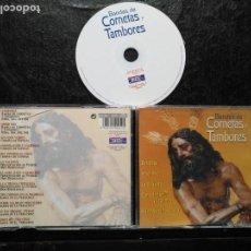 CDs de Música: CD SEMANA SANTA SEVILLA BANDA DE CORNETAS Y TAMBORES BARRABAS AMOR MIO LA VALIENTE TRIANA COSTALERA. Lote 133886246