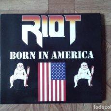 CDs de Música: RIOT - BORN IN AMERICA - CD 2015 5º DISCO 1983. Lote 133896266