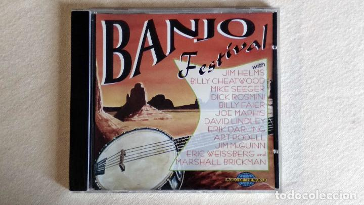 BANJO FESTIVAL - MUSIC OF THE WORD - CD. SAAR 1996 - PROMO SOUND AG. 1997 (Música - CD's Country y Folk)