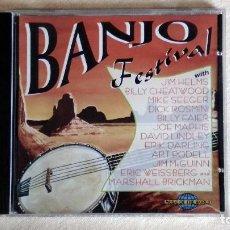 CDs de Música: BANJO FESTIVAL - MUSIC OF THE WORD - CD. SAAR 1996 - PROMO SOUND AG. 1997. Lote 133900182