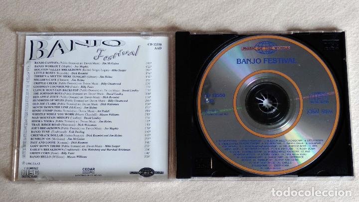CDs de Música: BANJO FESTIVAL - Music of the Word - CD. SAAR 1996 - Promo Sound AG. 1997 - Foto 2 - 133900182