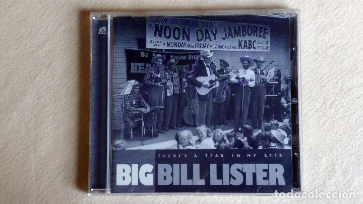 BIG BILL LISTER - THERE'S A TEAR IN MY BEER - CD. BEAR FAMILY RECORDS. 1999 (Música - CD's Country y Folk)