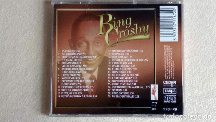 CDs de Música: BING CROSBY - 29 Classics including - CD. - Foto 4 - 133903086