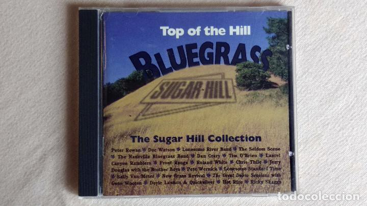 BLUEGRASS - TOP OF THE HILL - CD. SUGAR HILL RECORDS. 1995 (Música - CD's Country y Folk)