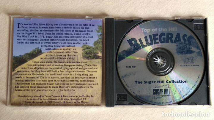 CDs de Música: BLUEGRASS - Top of the Hill - CD. Sugar Hill Records. 1995 - Foto 2 - 133904462
