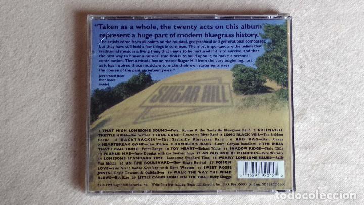 CDs de Música: BLUEGRASS - Top of the Hill - CD. Sugar Hill Records. 1995 - Foto 3 - 133904462