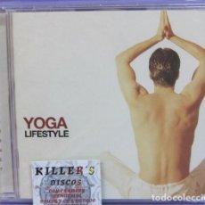 CDs de Música: YOGA LIFESTYLE - CD . Lote 133905074