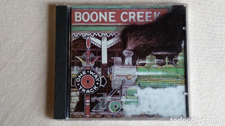 BOONE CREEK - ONE WAY TRACK - CD. SUGAR HILL RECORDS. 1991 (Música - CD's Country y Folk)