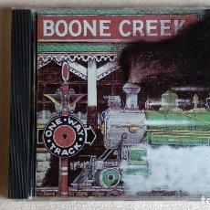 CDs de Música: BOONE CREEK - ONE WAY TRACK - CD. SUGAR HILL RECORDS. 1991. Lote 133906926