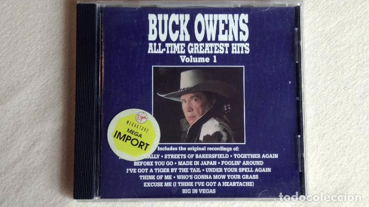 BUCK OWENS -ALL TIME GREATEST HITS VOL.1 - CD. CURB RECORDS. 1990 (Música - CD's Country y Folk)