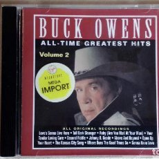 CDs de Música: BUCK OWENS -ALL TIME GREATEST HITS VOL.2 - CD. CURB RECORDS. 1992. Lote 133908674