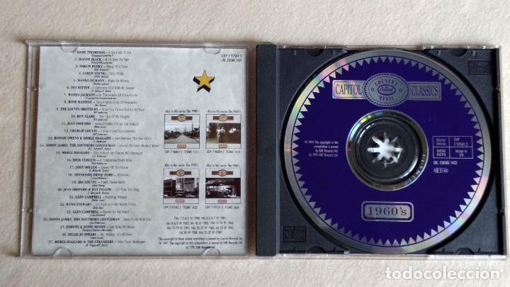 CDs de Música: CAPITOL COUNTRY MUSIC CLASSICS 1960S - CD. EMI Capitol Records. 1991. - Foto 2 - 133909846