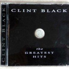 CDs de Música: CLINT BLACK - GREATEST HITS - CD. BMG ENTERTAINMENT. 1996.. Lote 133910230