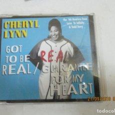 CDs de Música: CHERYL LYNN. Lote 133910562