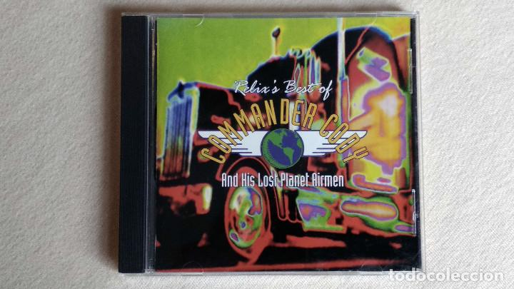 RELIX'S BEST OF COMMANDER CODY AND HIS LOST PLANET AIRMEN - CD. RELIX RECORDS. 1995. (Música - CD's Country y Folk)