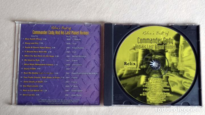 CDs de Música: Relixs Best of COMMANDER CODY And His Lost Planet Airmen - CD. Relix Records. 1995. - Foto 2 - 133910598