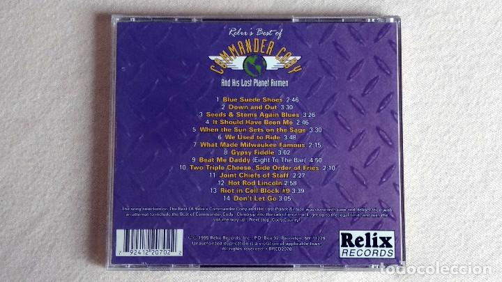CDs de Música: Relix's Best of COMMANDER CODY And His Lost Planet Airmen - CD. Relix Records. 1995. - Foto 3 - 133910598