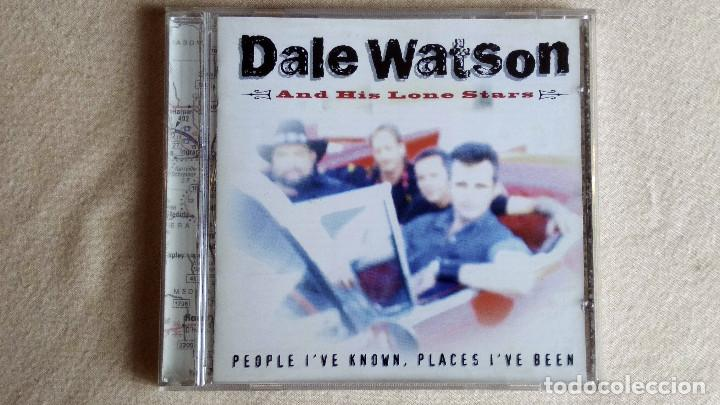 DALE WATSON AND HIS LONE STARS - PEOPLE I'VE KNOWN, PLACES I'VE BEEEN - CD. CSCCD 1011. AÑO 1999 (Música - CD's Country y Folk)