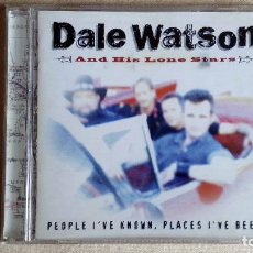 CDs de Música: DALE WATSON AND HIS LONE STARS - PEOPLE I'VE KNOWN, PLACES I'VE BEEEN - CD. CSCCD 1011. AÑO 1999. Lote 133911778