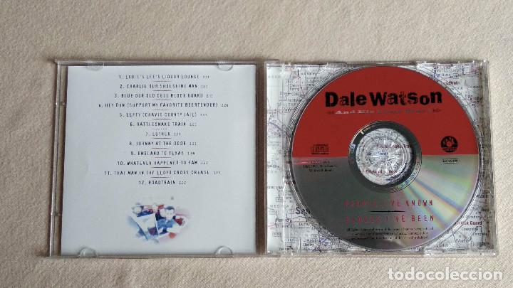 CDs de Música: DALE WATSON and his Lone Stars - People Ive Known, Places Ive Beeen - CD. CSCCD 1011. Año 1999 - Foto 2 - 133911778