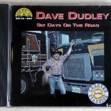 CDs de Música: DAVE DUDLEY - SIX DAYS ON THE ROAD - CD. SUN RECORDS. 1996. Lote 133912714