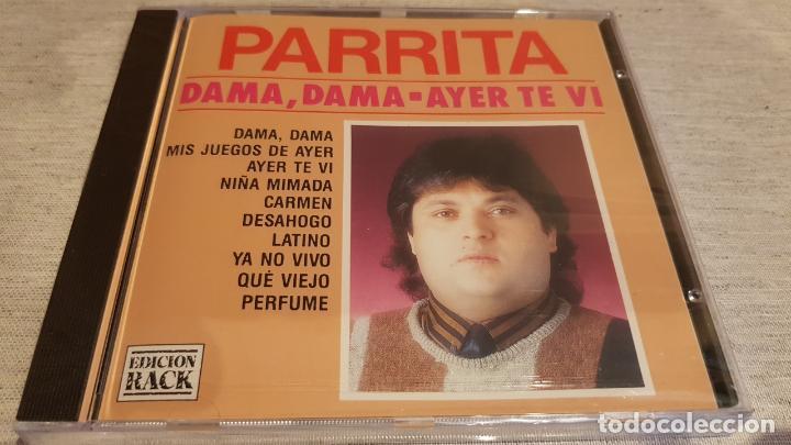 PARRITA / DAMA, DAMA - AYER TE VI / CD - PERFIL / 10 TEMAS / PRECINTADO. (Música - CD's Flamenco, Canción española y Cuplé)