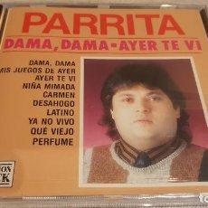 CDs de Música: PARRITA / DAMA, DAMA - AYER TE VI / CD - PERFIL / 10 TEMAS / PRECINTADO.. Lote 133917194