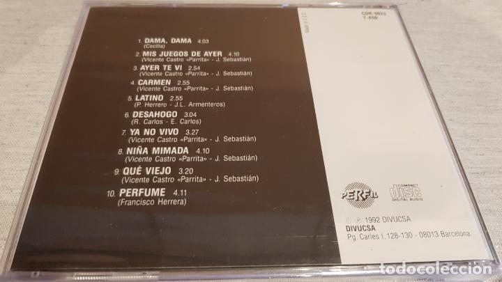 CDs de Música: PARRITA / DAMA, DAMA - AYER TE VI / CD - PERFIL / 10 TEMAS / PRECINTADO. - Foto 2 - 133917194