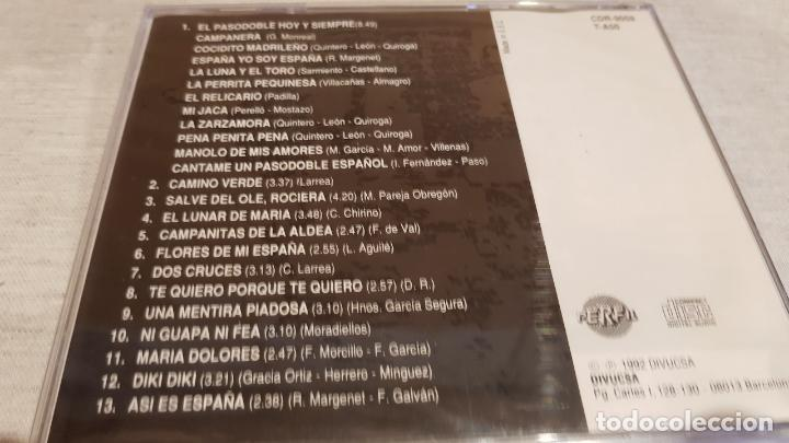 CDs de Música: LOS ESPAÑOLÍSIMOS - DE RAYMOND Y JOSÉ MARÍA / ALMA ESPAÑOLA / CD - PERFIL / 13 TEMAS / PRECINTADO. - Foto 2 - 133957674