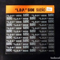 CDs de Música: MAXI SINGLE. VINILO. L.D.P. SIDE SUEÑO. BOX RECORDS, 1993. Lote 133995334