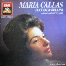 CDs de Música: MARIA CALLAS - PUCCINI (MANON LESCAUT,M. BUTTERFLY, LA BOHÈME,SUOR ANGELICA) BELLINI (LA SONNAMBULA). Lote 134004102