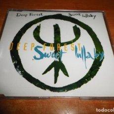 CDs de Música: DEEP FOREST SWEET LULLABY REMIXES CD SINGLE DEL AÑO 1993 ESPAÑA PORTADA DE PLASTICO CONTIENE 7 TEMAS. Lote 198681161
