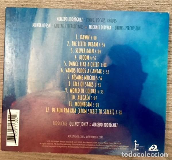 CDs de Música: ALFREDO RODRÍGUEZ - THE LITTLE DREAM - PRODUCIDO POR QUINCY JONES - Foto 2 - 257674615