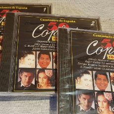 CDs de Música: 50 COPLAS INOLVIDABLES / CANCIONERO DE ESPAÑA / COMPLETA 3 CDS - DIVUCSA / PRECINTADOS.. Lote 134040566