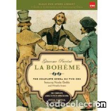 CDs de Música: LA BOHÈME (LIBRO + 2 CDS) MÚSICA COMPUESTA POR GIACOMO PUCCINI. Lote 134040858