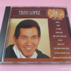 CDs de Música: CD-TRINI LÓPEZ-GOLD-11 TEMAS-EVEREST RECORD-1993-COMO NUEVO-VER FOTOS. Lote 134050846