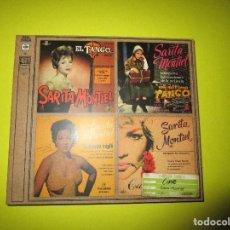 CDs de Música: CD SARA MONTIEL - FUMANDO ESPERO - VALENCIA - LA VIOLETERA - EL RELICARIO - CLAVELITOS - NADA - . Lote 134063146