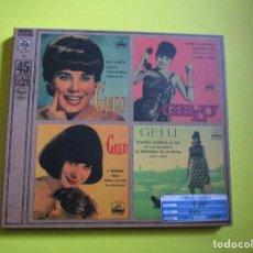 CDs de Música: CD GELU - SIEMPRE ES DOMINGO - EL PARTIDO DE FUTBOL - CHICA YE-YE - RENATO - ET MAITENANT - . Lote 134063622