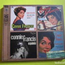 CDs de Música: CD CONNIE FRANCIS - SIBONEY - LA PALOMA - GRANADA - MALAGUEÑA - BESAME MUCHO - LINDA MUCHACHITA -. Lote 134063790
