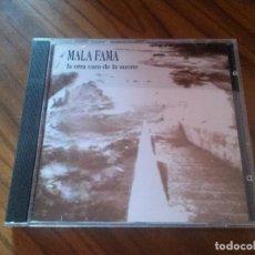 CDs de Música: MALA FAMA. LA OTRA CARA DE LA SUERTE. CD EN BUEN ESTADO CON 10 TEMAS. RARO. Lote 134064354