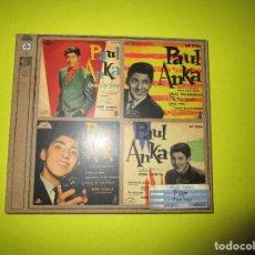CDs de Música: CD PAUL ANKA - DIANA - JAMBALAYA - JUST YOUNG - PITY, PITY - LES FILLES DE PARIS - VERBOTEN - . Lote 134064430