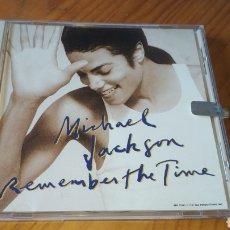 CDs de Música: MICHAEL JACKSON REMEMBER THE TIME USA CD SINGLE. Lote 134064483