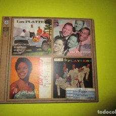 CDs de Música: CD THE PLATTERS - MY PRAYER - ONLY YOU - MISTERY OF YOU - REMEMBER WHEN - HULA HOP - . Lote 134064618
