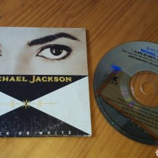 CDs de Música: MICHAEL JACKSON BLACK OR WHITE AUSTRALIA. Lote 134067627