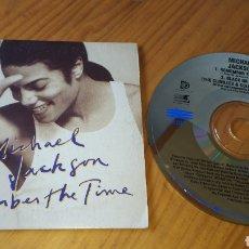 CDs de Música: MICHAEL JACKSON REMEMBER THE TIME AUSTRALIA. Lote 134068069