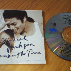 CDs de Música: MICHAEL JACKSON REMEMBER THE TIME AUSTRALIA. Lote 134068195