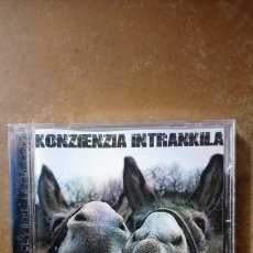 CDs de Música: KONZIENZIA INTRANKILA - ME LO DICES O ME LO CUENTAS. CD. BUEN ESTADO.. Lote 134068493