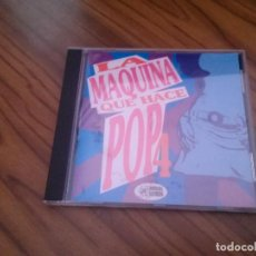 CDs de Música: LA MAQUINA DEL POP 4. VARIAS BANDAS. ANIMAL RECORDS. CD EN BUEN ESTADO. CON 19 TEMAS. . Lote 134073758