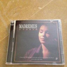 CDs de Música: MADREDEUS. OPORTO (2 CD). Lote 134083314